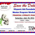 H100 Mentor Program Workshop 7.30.16