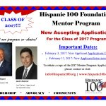 H100 Mentor Program Accepting Applications_Class of 2017 (1)